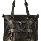 PU BLACK HANDBAG