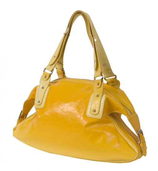 YELLOW SHOULDER HANDBAG