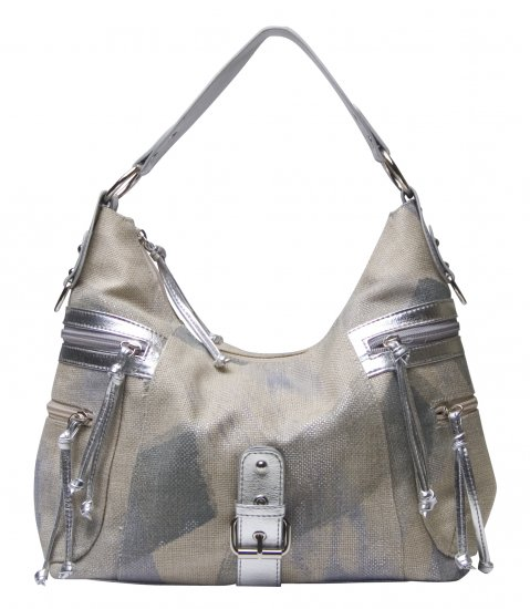 SILVER FASHION HANDBAG