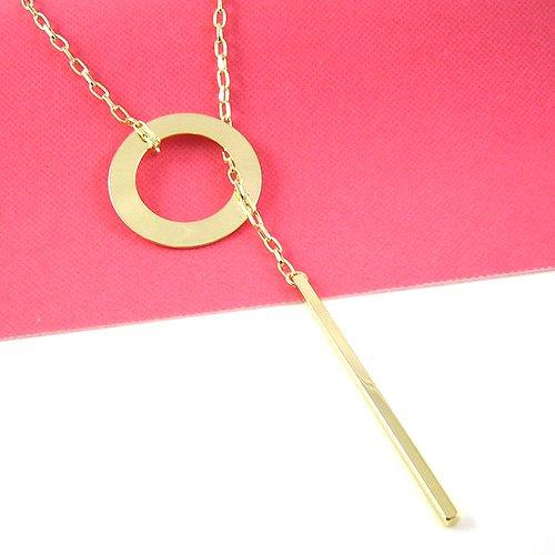 Gold Circle designed Pendant