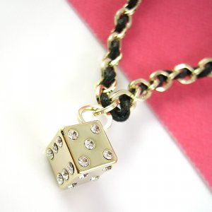Dice Style Diamond Pendant