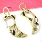 Gold Fashion designed Earring