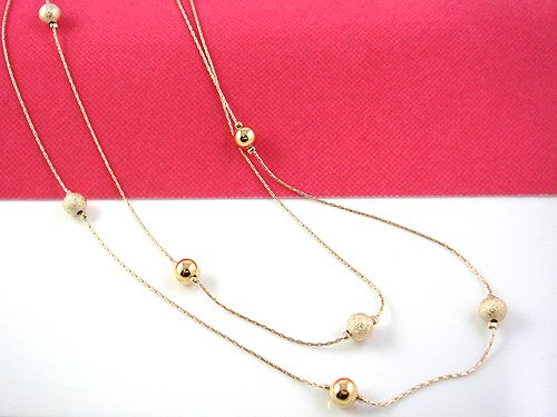 Golden Bead Fashion Necklace