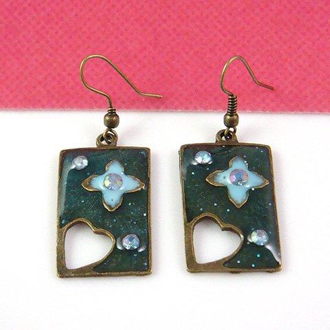 Japanese Sakura Design Earring