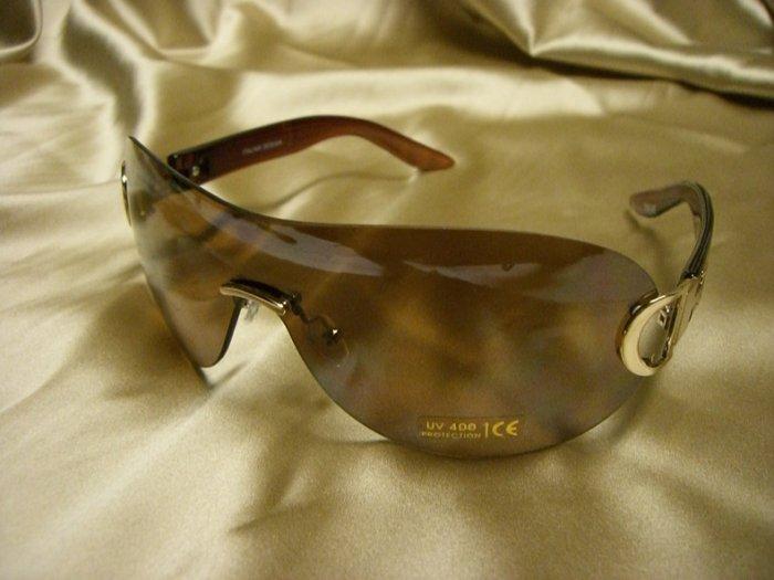 BR Fashion Sunglasses 14043 BROWN