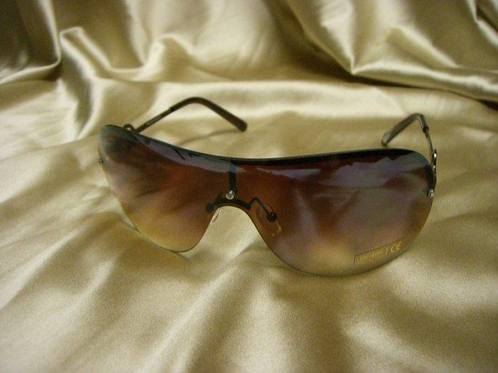 BR Fashion Sunglasses 14054 BROWN