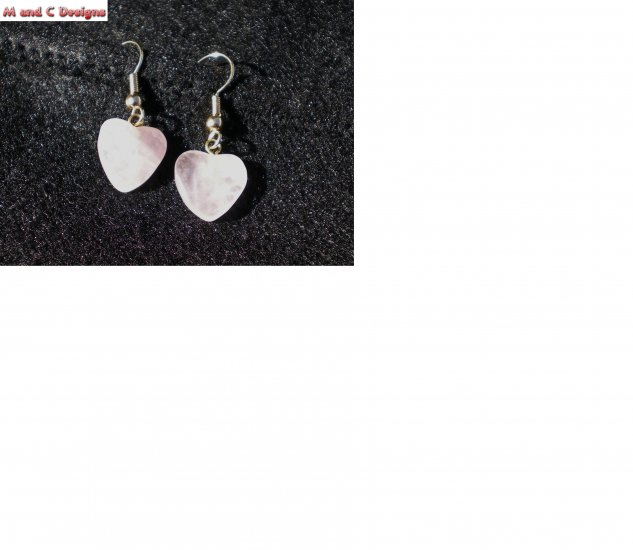 Pink Heart Earrings