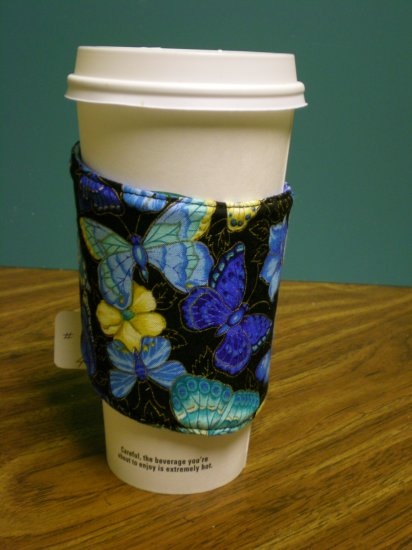 Butterfly Coffee Cozy