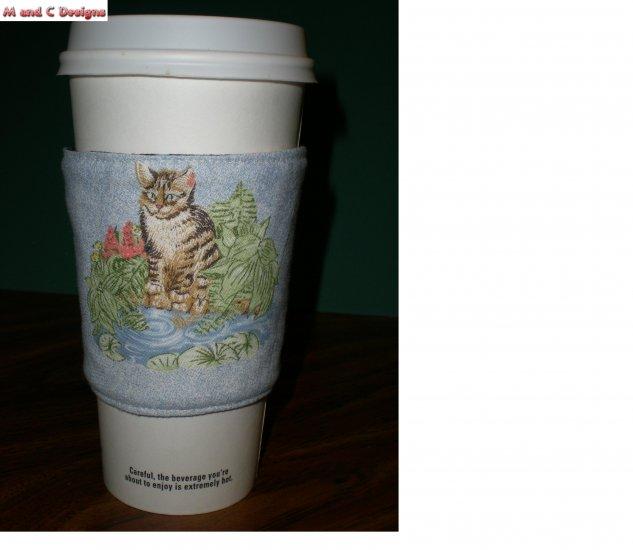 Kitten Coffee Cozy