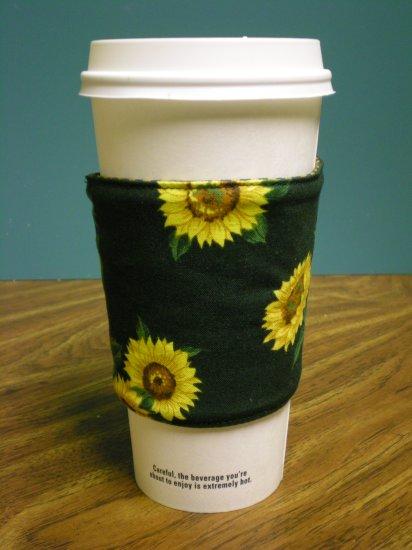 Sunflower Coffee Cozy