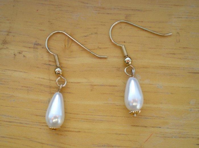 Pearldrop earrings