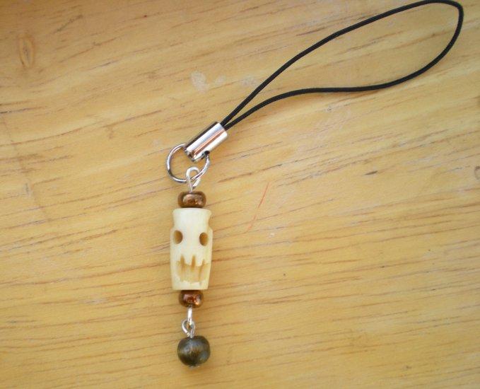 Skull Cell Phone Charm