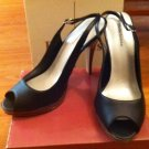 Delicious brand Black sling back pumps