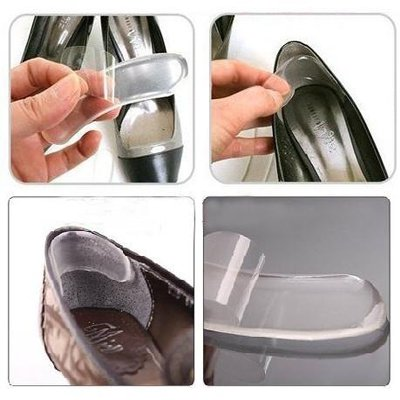 Silicone Heel Grips Loose Shoes Foot Blisters Plasters
