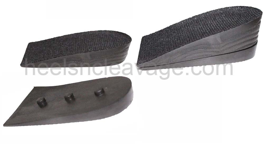 Heel Lift Shoe Inserts Men Height Increase 2.5-3.5cm