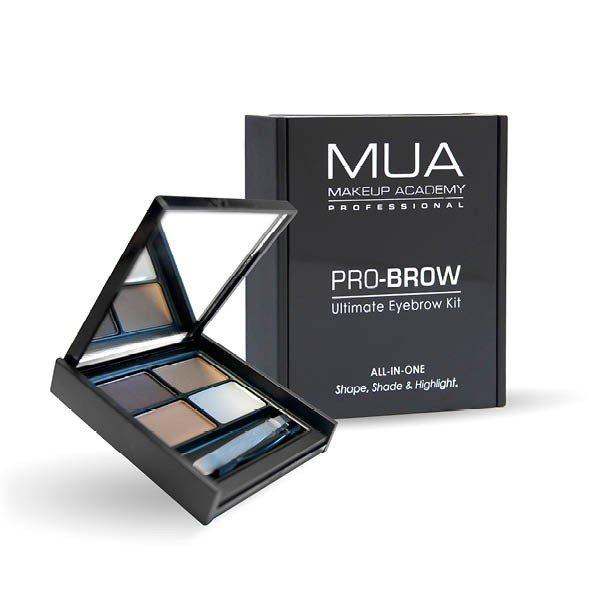 MUA Pro-brow Eyebrow Kit Shape Shade Highlight Eye Makeup Kit