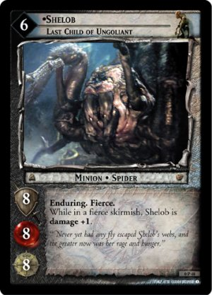 0P48 - Shelob, Last Child of Ungoliant - Promo
