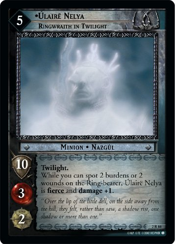 2R84 - Ulaire Nelya, Ringwraith in Twilight