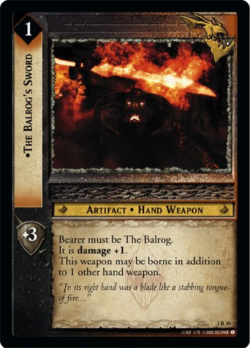2R50 - The Balrog's Sword
