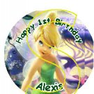 TinkerBell Personalized Birthday Button