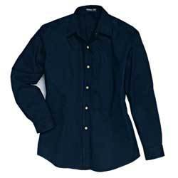 Jonathan Corey performance brushed twill long sleeve shirt