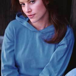 1961 Authentic Pigment Ladies' Pigment-Dyed Stretch Hooded Pullover