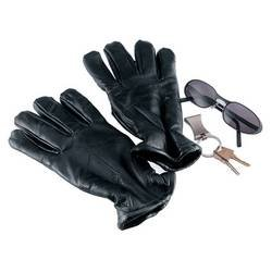 Giovanni Navarre�® Italian Stoneâ Design Genuine Leather Gloves