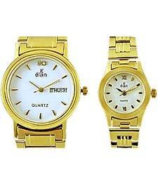 Elan EB 165W Formal Pair Watch
