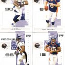 2007 Denver Broncos NFL Playoffs Team Set