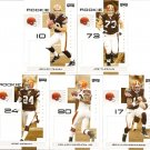 2007 Cleveland Browns NFL Playoffs Team Set