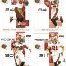 2007 Tampa Bay Buccaneers NFL Playoffs Team Set