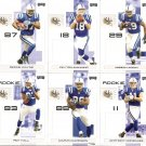 2007 Indianapolis Colts NFL Playoffs Team Set