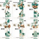 2007 Miami Dolphins NFL Playoffs Team Set
