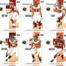 2007 Atlanta Falcons NFL Playoffs Team Set
