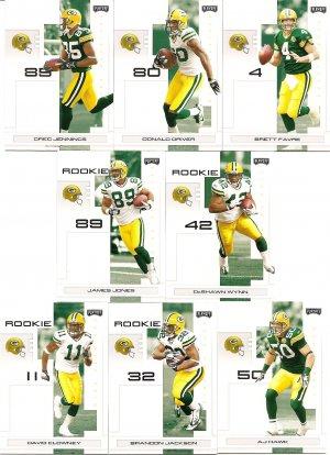 2007 Green Bay Packers NFL Playoffs Team Set