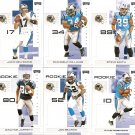 2007 Carolina Panthers NFL Playoffs Team Set
