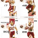 2007 Washington Redskins NFL Playoffs Team Set