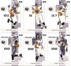 2007 Seattle Seahawks NFL Playoffs Team Set