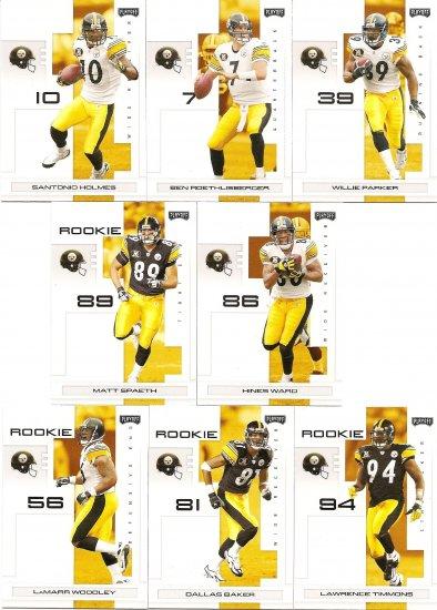 2007 Pittsburgh Steelers NFL Playoffs Team Set