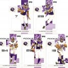2007 Minnesota Vikings NFL Playoffs Team Set