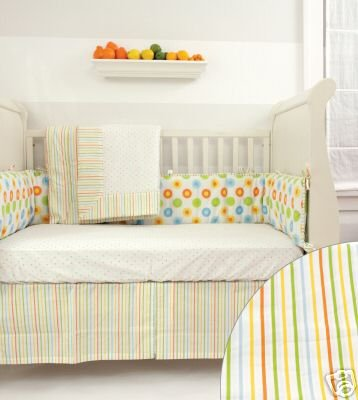 Happy 4 Piece Ultra Bedding Bundle by Babylicious