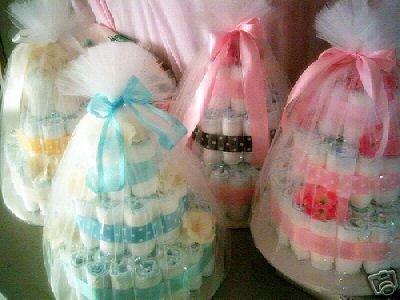 Diaper Cakes (Trendy)