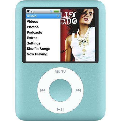 Apple Ipod Nano 3rd Generation (8GB) (BLUE)