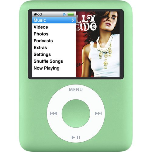 Apple Ipod Nano 3rd Generation (8GB) (GREEN)