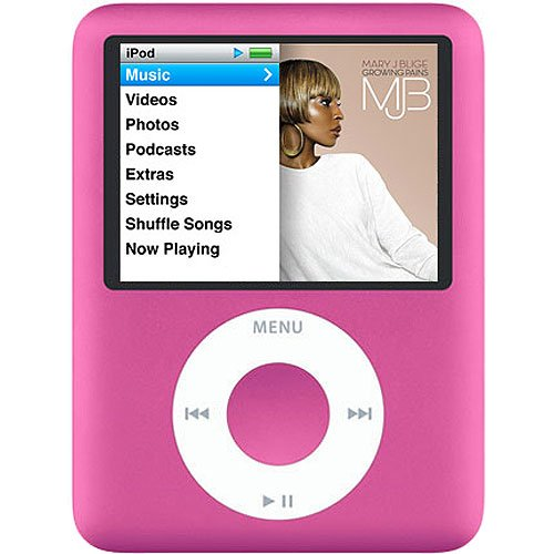 Apple Ipod Nano 3rd Generation (8GB) (PINK)