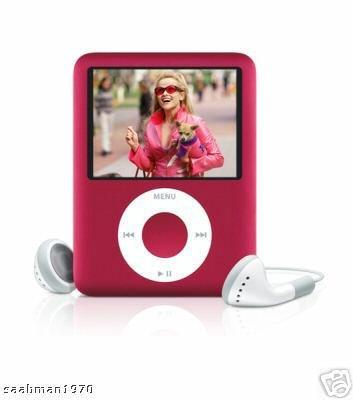 Apple Ipod Nano 3rd Generation (8GB) (RED)