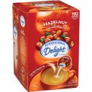 International Delight Hazelnut Liquid Creamer, 192-Count Single-Serve Packages