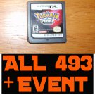 Pokemon Pearl - PRELOADED With All 493 Pokemon + 10th JAA EVENT MEW Deoxys + Arceus + UNLOCKED