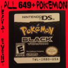 Pokemon Black Loaded With All 649 + 40 RARE Legit Event Unlocked