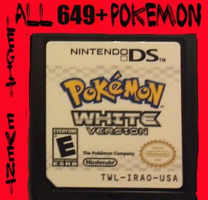 Pokemon White Loaded With All 649 + 40 RARE Legit Event UNLOCKED